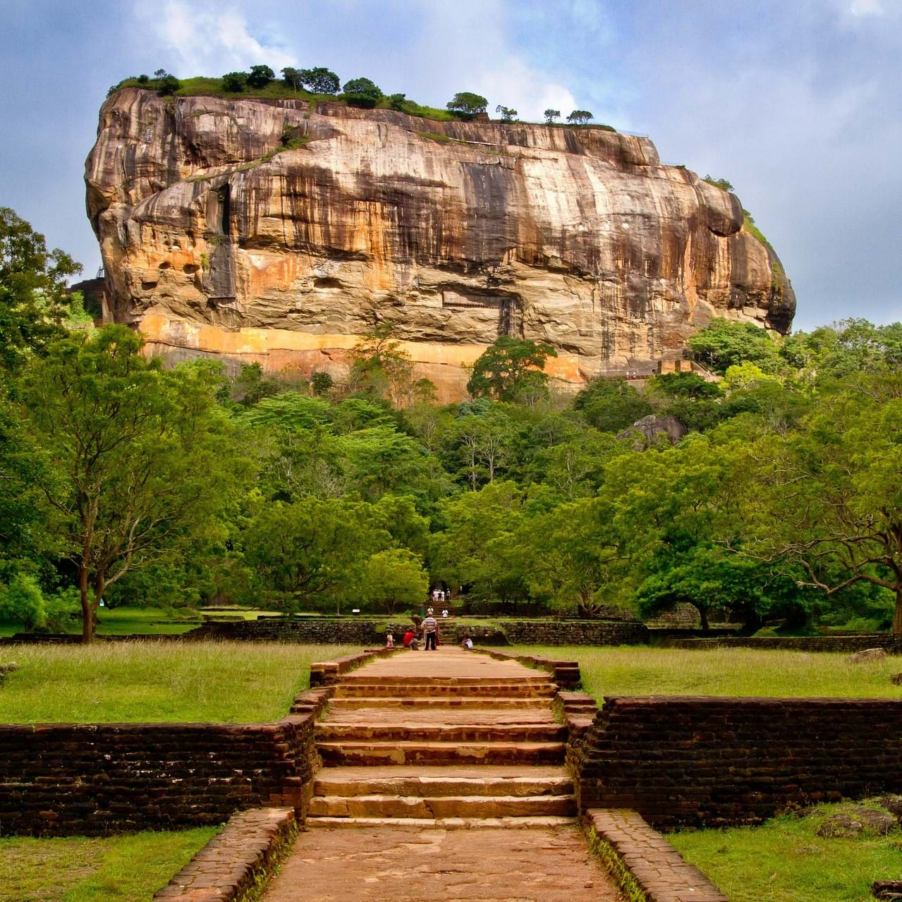 sirgirya rock in Sri Lanka
