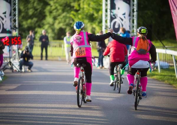 Women V Cancer - Ride the Night in London supports Jo's Cervical Cancer Trust, Ovarian Cancer Action and Breast Cancer Care.