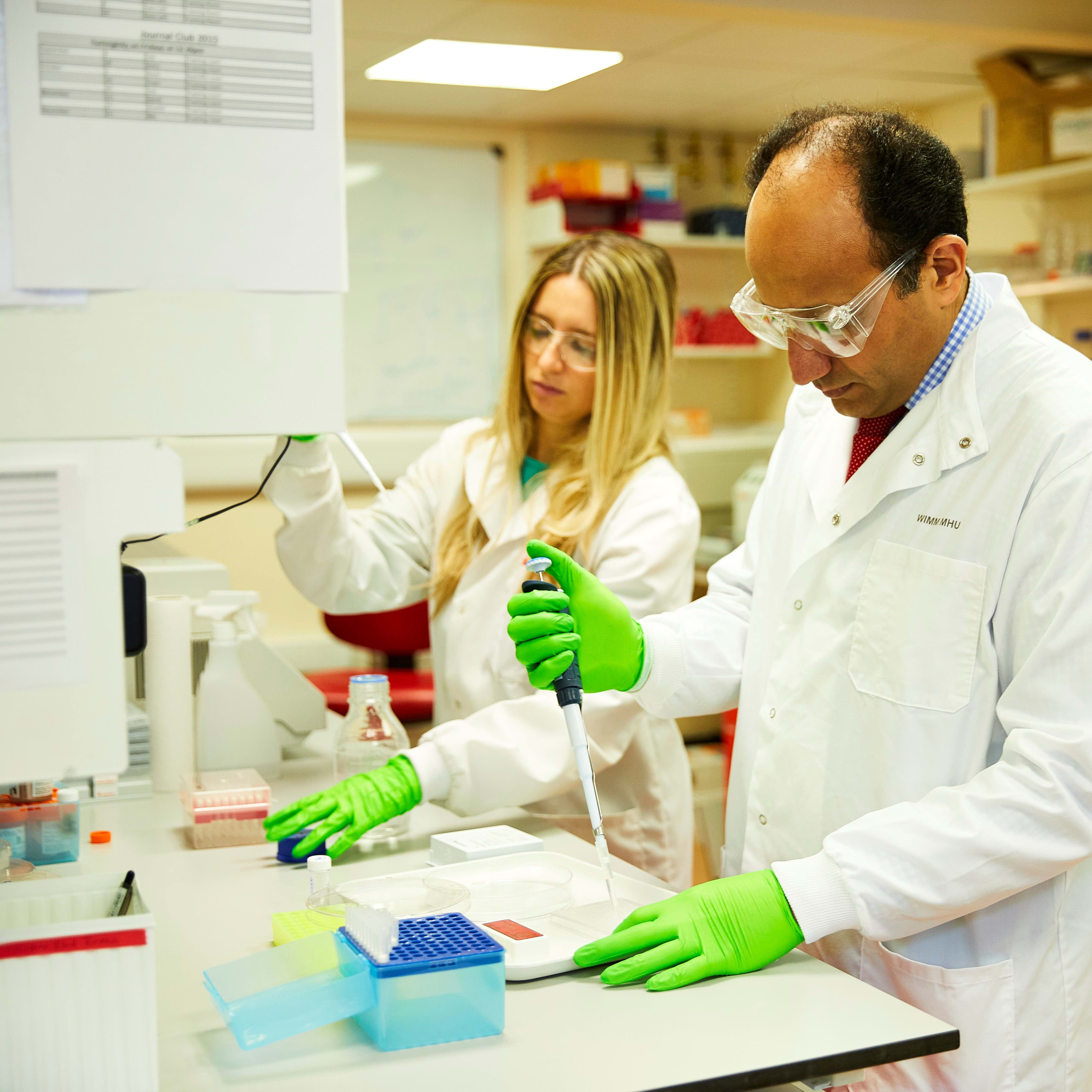 Cancer charity Ovarian Cancer Action funding scientists