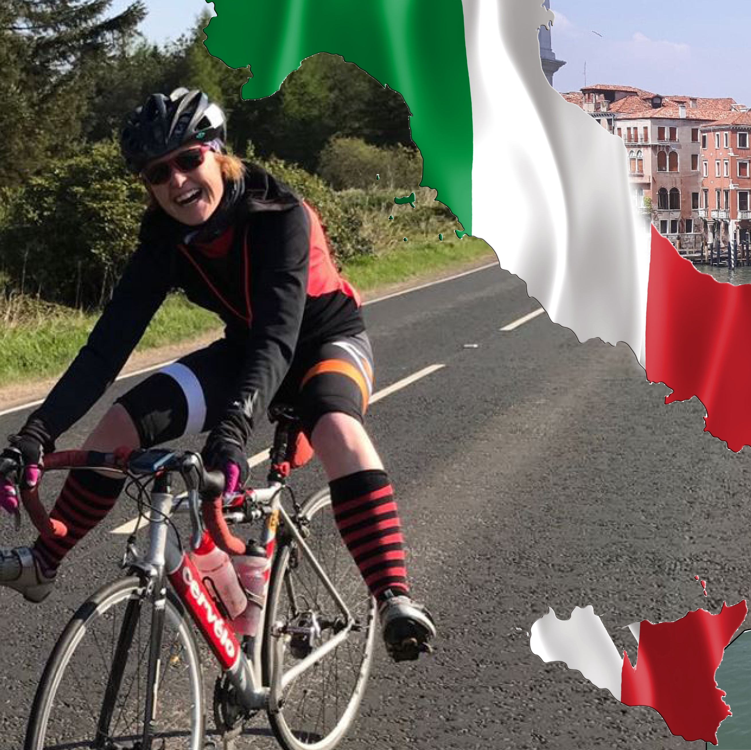 Cycle from Milan to Venice for women's cancer charities in May 2019