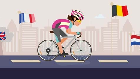 Women V Cancer London to Amsterdam Bike Ride 2021
