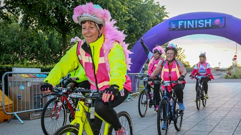 Women V Cancer Ride the Night Edinburgh 2020