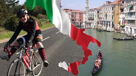 Women V Cancer - Cycle Milan to Venice