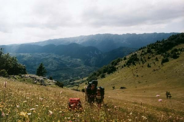 hiking through the Bucegi Mountains Dream Challenges Bear Necessities Trek Transylvania for animal charities