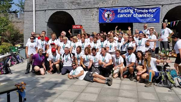 Britain V Cancer Group Photo